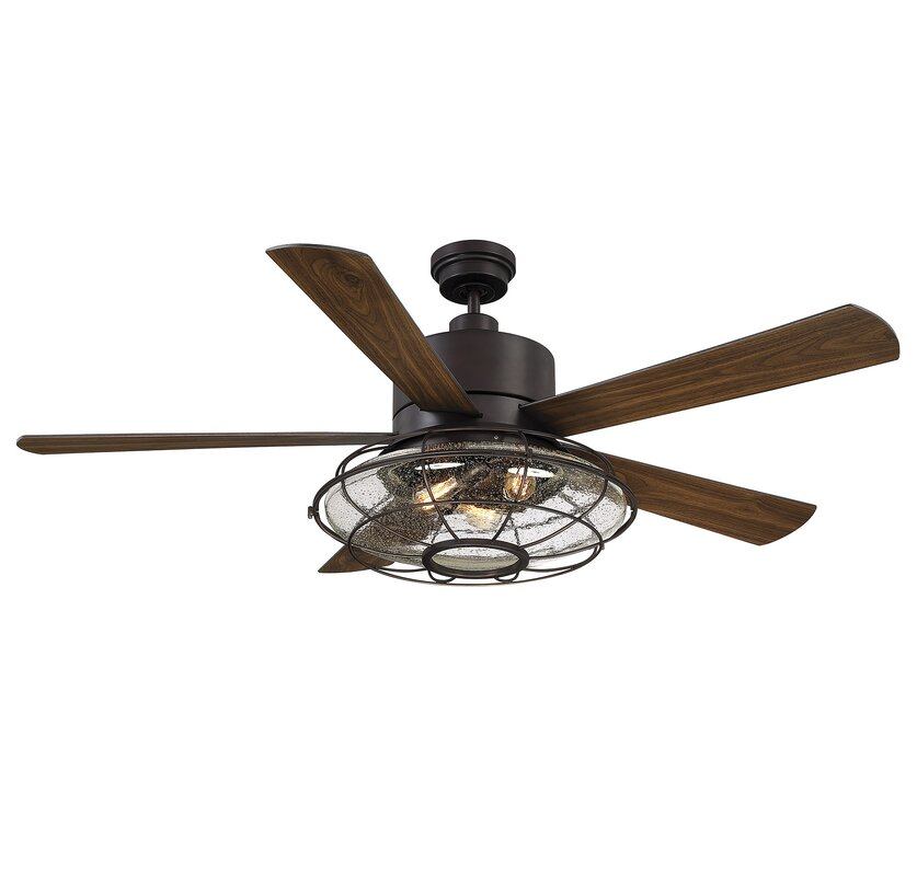 56 roberts 5 blade ceiling fan with remote control