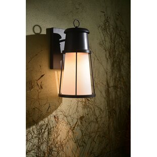 Read Reviews Jay 1-Light Wall Lantern By Breakwater Bay