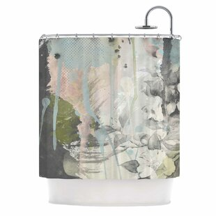 'True' Mixed Media Single Shower Curtain