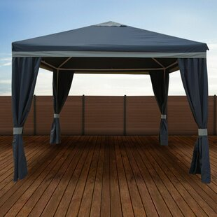 Impact Shelter 10 Ft. W x 10 Ft. D Steel Patio Gazebo