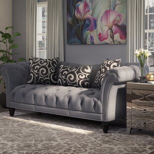 Willa Arlo Interiors Hendrix Chesterfield Sofa
