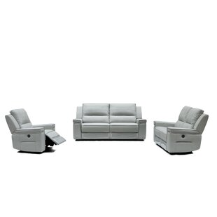 Orren Ellis Gilmore Reclining Configurable Living Room Set