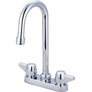 Central Brass Double Handle Kitchen Faucet