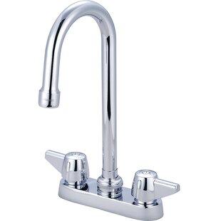 Central Brass Double Handle Kitchen Faucet