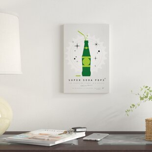 'Super Soda Pops XX' Graphic Art Print on Canvas By East Urban Home
