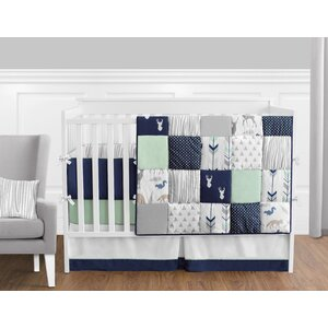 Woodsy 9 Piece Crib Bedding Set