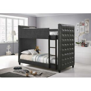 Servin Twin Over Twin Bunk Bed by Harriet Bee