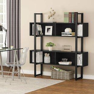 Frith Geometric Bookcase by Ebern Designs