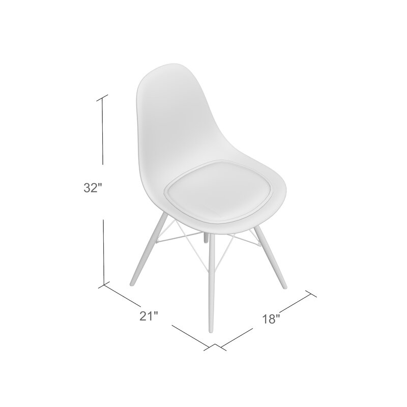 Mohnton Clear Side Chair