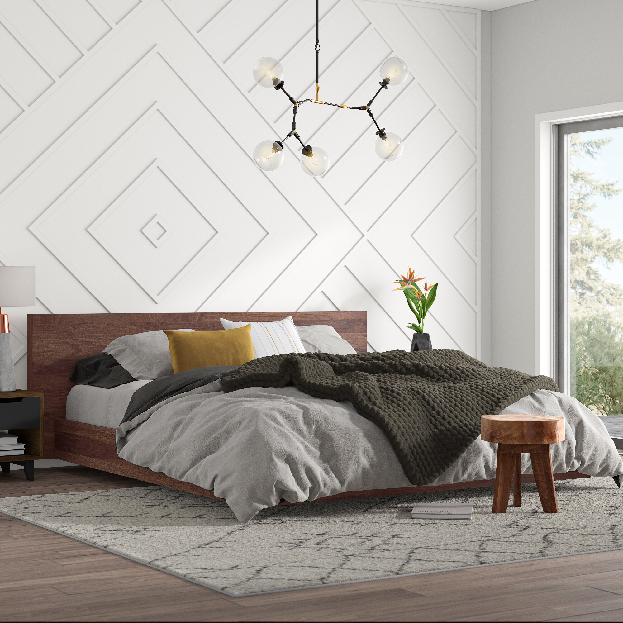 Mercury Row Karr Platform Bed Reviews