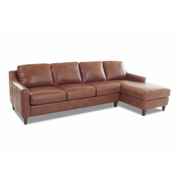 Tremendous Durango Leather Sectional Wayfair Machost Co Dining Chair Design Ideas Machostcouk