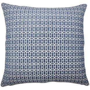 Julius Geometric Floor Pillow