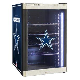 NFL 2.5 cu. ft. Beverage Center