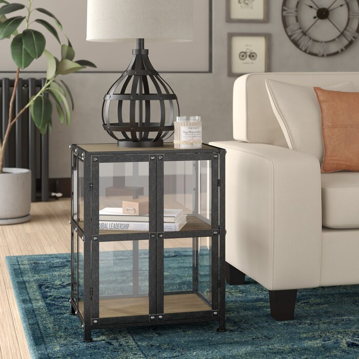 Carlsbad End Table With Storage