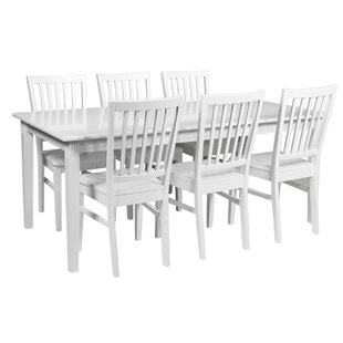 Dining Set With 6 Chairs By August Grove