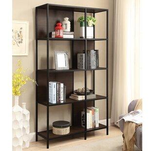 Cheatum Minimalist Standard Bookcase by Latitude Run