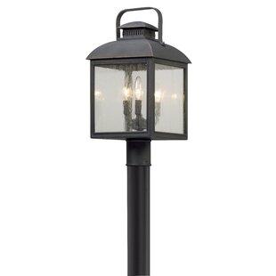 Gracie Oaks Koffi Outdoor 3-Light Lantern Head