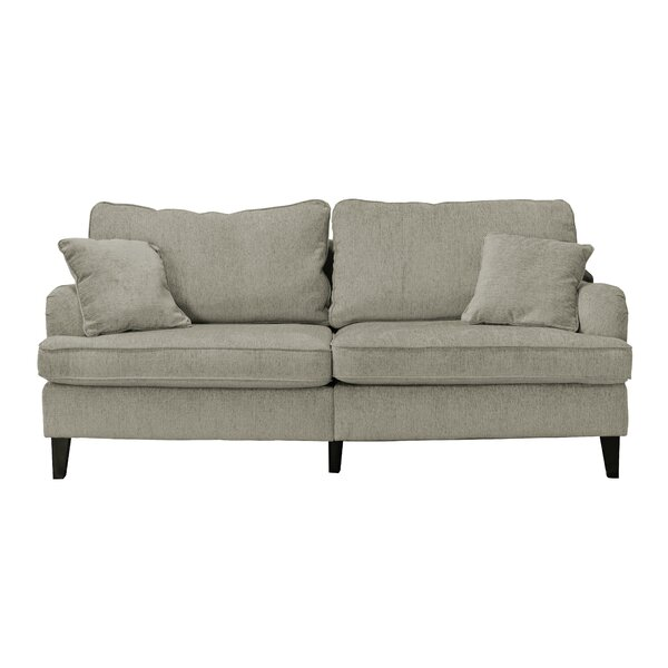 "Serta At Home Carlisle 78"" Sofa With Pleated Arms & Reviews by Serta At Home"