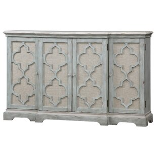 Aliya 4 Door Accent Cabinet by One Allium Way