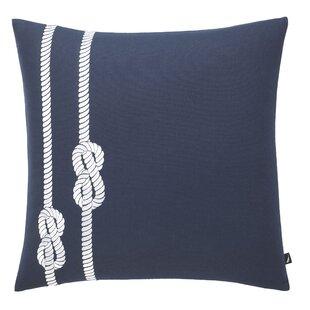Rope 100% Cotton Throw Pillow