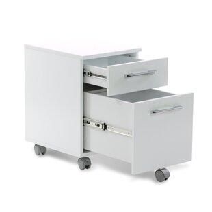 Haaken Furniture Tribeca 2-Drawer Mobile ..