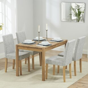 Muoi Dining Set With 4 Chairs By Zipcode Design