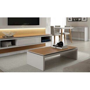 Dalessio Rectangle Coffee Table by Ebern Designs Read Reviews