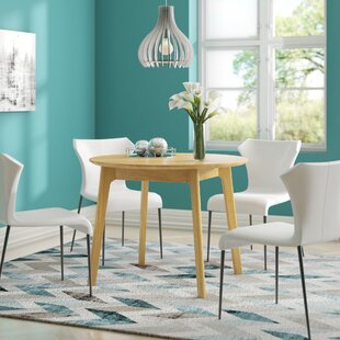 Vesper Round Dining Table By Gracie Oaks