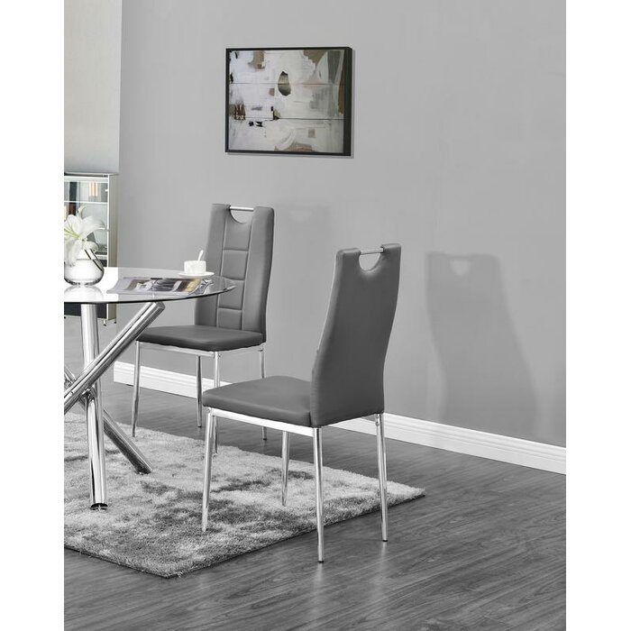 Sensational Spickard Upholstered Dining Chair Gmtry Best Dining Table And Chair Ideas Images Gmtryco