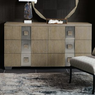 Mosaic 6 Drawer Double Dresser