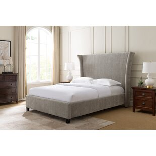 Skaggs Upholstered Panel Bed by Everly Quinn No Copoun