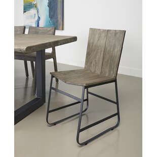 Speedwell Solid Wood Dining Chair (Set of 2) Union Rustic