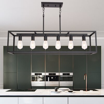 17 Stories Lavada 3 Light Kitchen Island Linear Pendant 17 Stories Bulb Type 9 5w Led From Wayfair North America Shefinds