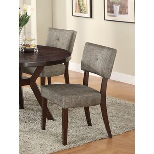 Damon Upholstered Dining Chair (Set Of 2) by Brayden Studio Modern