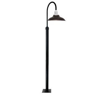 Online Reviews Peony 1-Light LED Post Light By Cocoweb