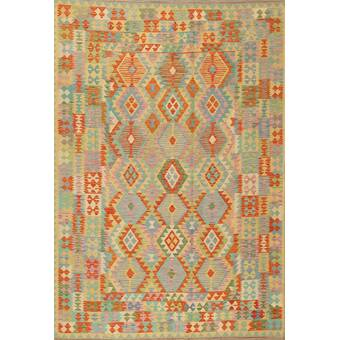 East Urban Home Foggy Days 262 Brown Area Rug Wayfair