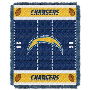 NFL Chargers Field Baby Blanket ByNorthwest Co.
