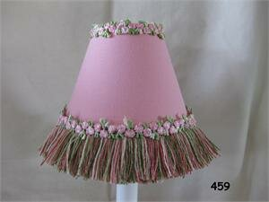 Pretty Flower Garden 11 Fabric Empire Lamp Shade