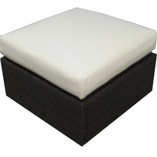Brayden Studio Ronning Ottoman with Cushion