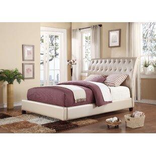 Madisen Upholstery Sleigh Bed by Rosdorf Park
