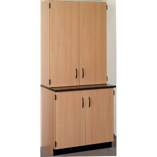 Science 4 Door Storage Accent Cabinet