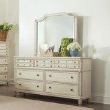 Henrietta Arched Cottage Beveled Distressed Dresser Mirror byBirch Lane™ Heritage