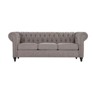 Dierker Chesterfield Sofa By Charlton Home