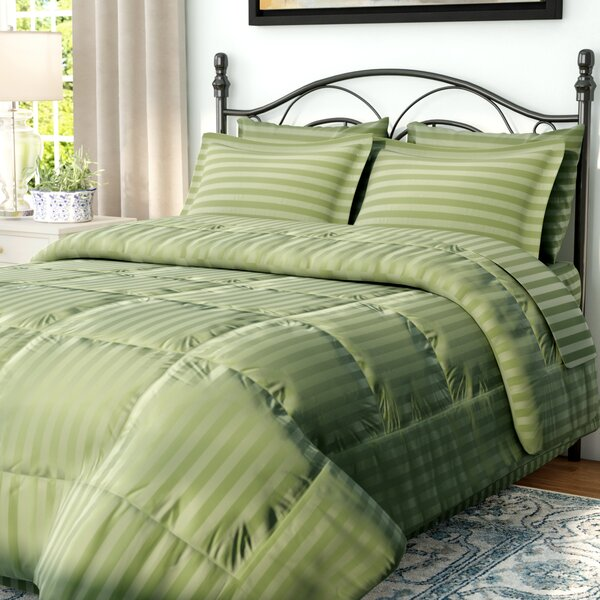 Best Sage Green Comforter Sets | Wayfair OQ34