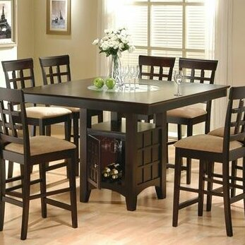 Height Dining Room Table Delectable Alcott Hill Melvin Counter Height Dining Table & Reviews  Wayfair Inspiration Design