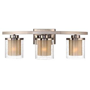 Latitude Run Scholl 3-Light Vanity Light