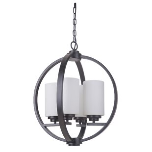 Red Barrel Studio Castagnozzi 4-Light Globe Chandelier