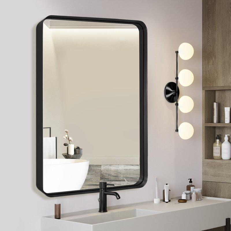 Mercury Row Venetian Bathroom Mirror Reviews Wayfair