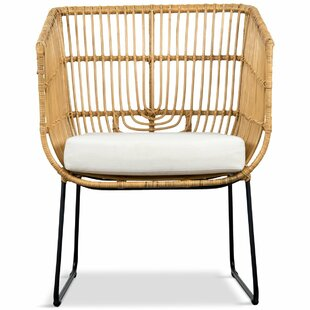 Bali Occasional Patio Chair with Cushions