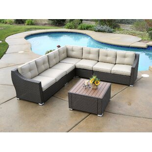 Lanclos 8 Piece Sectional Group with Cushions